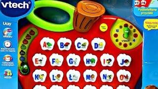 getlinkyoutube.com-Preschool Learning Alphabet Apple / Jabłko z Literkowym Zoo - VTech - Trefl - 60136 - Recenzja