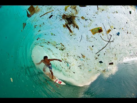 Surfing For Change: Indonesia Trash Tubes