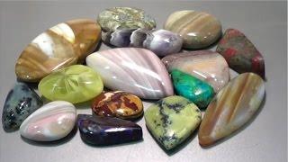 getlinkyoutube.com-How to Cut and Polish Semi Precious Gemstone - Ribbonstone   Liz Kreate