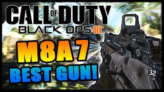 "getlinkyoutube.com-Call of Duty Black Ops 3 M8A7 Seraph Annihilator Best Gun ""Black Ops 3 Beta"" Gameplay R.A.P.S Hunted"
