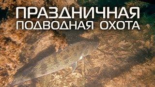 getlinkyoutube.com-Праздничная подводная охота