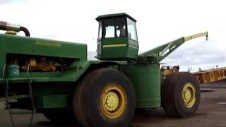 "getlinkyoutube.com-D9, Big Tractor - ""Tonka Toy"" with swing around Cab.  David Trevilyan Multi Farming Systems"