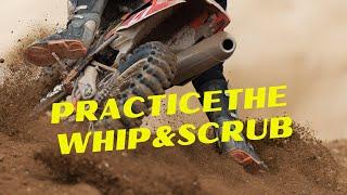 getlinkyoutube.com-Motocross Training Academy: How To Practice The Whip & Scrub