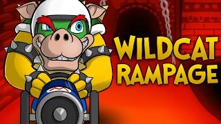 getlinkyoutube.com-WILDCAT'S RAMPAGE!! - Mario Kart 8 Funny Moments