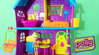 getlinkyoutube.com-Casa da Polly Pocket Melhor Casa de Todas Playset - Mattel