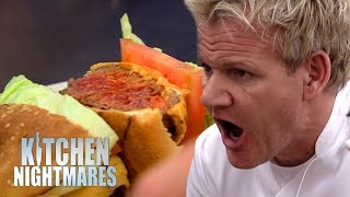 Chef Can't Cook A BURGER | Kitchen Nightmares width=