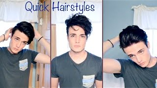 getlinkyoutube.com-Mens Hair: Quick and Easy Hairstyles
