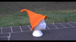 getlinkyoutube.com-Witches Hat Crochet Tutorial Part 1 of 2  - Halloween