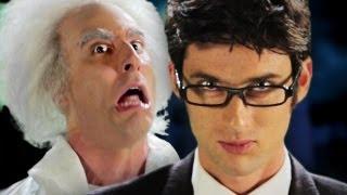 getlinkyoutube.com-Doc Brown vs Doctor Who.  Epic Rap Battles of History Season 2.