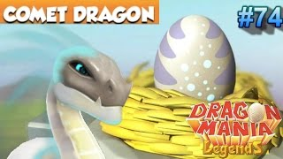 getlinkyoutube.com-Legendary COMET Dragon Hatching! - Dragon Mania Legends PC #74