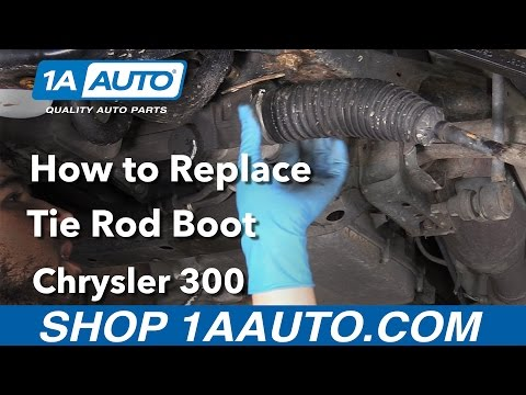How to Replace Inner Tie Rod Boots 05-10 Chrysler 300