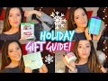 Holiday Gift Guide 2014 ❄ Friends, Family & MORE!