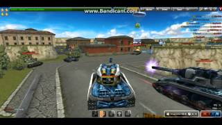 getlinkyoutube.com-Tanki online bugatinaitro gold box no10 (XP-XT)