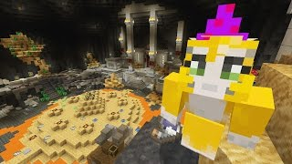 getlinkyoutube.com-Minecraft Xbox - Wizard Challenge - Battle Mini-Game