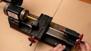 getlinkyoutube.com-Sherline 4000 Mini Micro Miniature Machinists Lathe