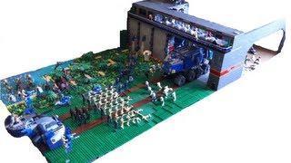 getlinkyoutube.com-HUGE Lego Star Wars Clone Base on Naboo