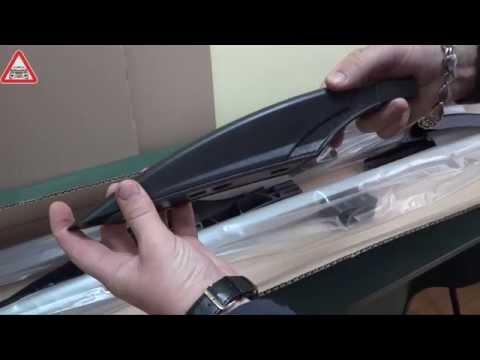 Детальный обзор рейлингов Fiat Doblo старый серого цвета CAN