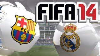 getlinkyoutube.com-FIFA 14 - Gameplay - FC Barcelona vs. Real Madrid [FULL-HD] [Deutsch] [Xbox 360]