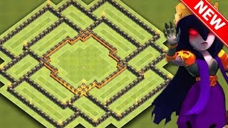 getlinkyoutube.com-EPIC TOWN HALL 9 (TH9) HYBRID BASE [FARMING AFTER UPDATE] - Protect Town Hall/Storages