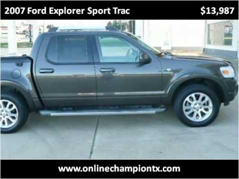 ford explorer sport trac 2007 manual
