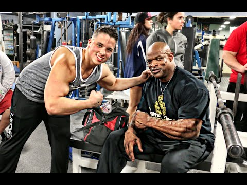 Training With My Idol - @BigRonColeman @NickWrightNWB
