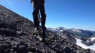 Mountain Unicycling Orekan Petretxema