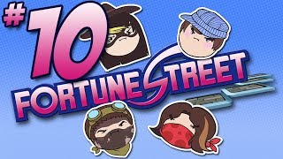 getlinkyoutube.com-Fortune Street: ROSS PRESS TWO - PART 10 - Steam Rolled