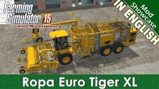 getlinkyoutube.com-Farming Simulator 2015 - Ropa Euro Tiger Beet Harvester  - Mod Showcase