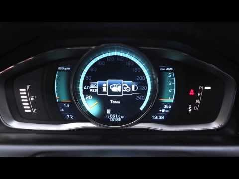 Графичекая панель Volvo