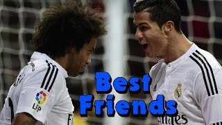 getlinkyoutube.com-Cristiano Ronaldo & Marcelo Vieira - Best Friends - Funny moments, celebration, goals 2009 - 2016 HD