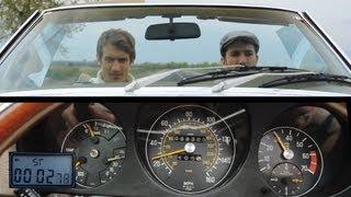 getlinkyoutube.com-TURBOMETAL motorblog - Mercedes 450SL 1977 (ENG/RUS/FIN/GER/ESP)