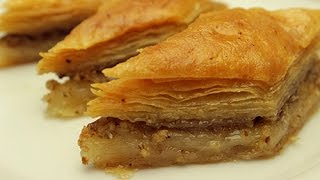 getlinkyoutube.com-Turkish Baklava Recipe - How to make Easy Baklava Dessert