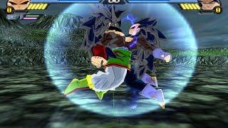 getlinkyoutube.com-Goku SSJ8 And Vegeta SSJ8 Fusion (Photala) | Vegetto SSJ8 | DBZ Tenkaichi 3 (MOD)