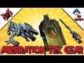 ARK | ABERRATION TEK REVIEW! TEK RAILGUN, TEK SLEEPING POD, TEK ROCK DRAKE  SADDLE!