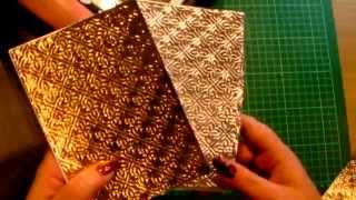 getlinkyoutube.com-43. Technique: Use Kitchen Foil with Embossing Folders for Cardmaking