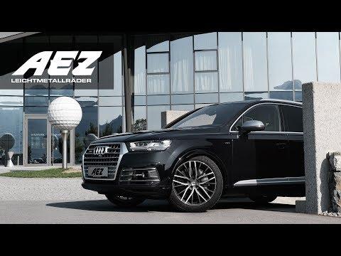 AEZ featuring Audi SQ7 on AEZ Panama dark