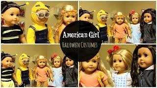 getlinkyoutube.com-American Girl Doll Halloween Costumes 2015!