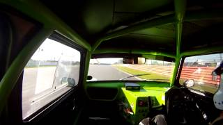 Steven Moss Racing at Silverstone May 2012 CSCC Special Saloons Ford Anglia 105E Moss Motorsport Ltd