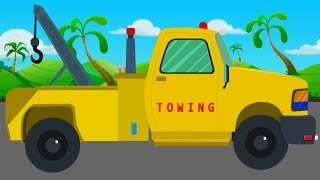getlinkyoutube.com-Tow Truck and Repairs | Video For Children | Video for kids | Baby video