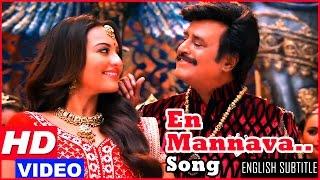 getlinkyoutube.com-Lingaa Tamil Movie Songs HD | En Mannava Song HD | Rajinikanth | Sonakshi Sinha | AR Rahman