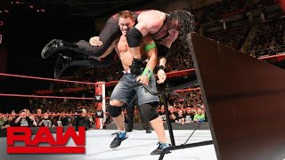 John Cena vs. Kane - No Disqualification Match: Raw, March 26, 2018