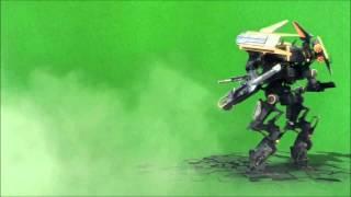Robot on a Green Screen