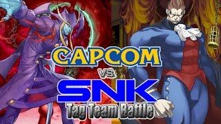 getlinkyoutube.com-Capcom vs. SNK Tag Team M.U.G.E.N System: Team Arcade w/ Jedah & Demitri