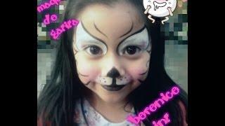 getlinkyoutube.com-Maquillaje de gatita