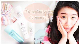 getlinkyoutube.com-Ma routine soin visage (en image) • Peau mixte, sensible et déshydratée   Skincare