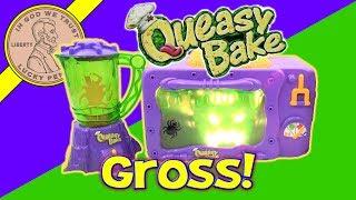 getlinkyoutube.com-2002 Queasy Bake Oven & Mixerator - Dip 'N Drool Dog Bones & Larva Licious Cocoon Cookies