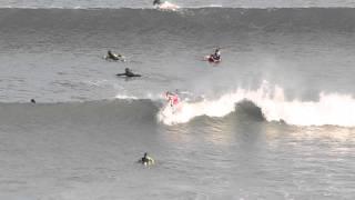 今日のサザンビーチは女性サーファーがいっぱい
