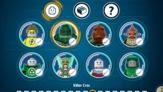 getlinkyoutube.com-LEGO Batman 3 (Vita/3DS) 100% Complete - All Characters & Red Bricks Unlocked