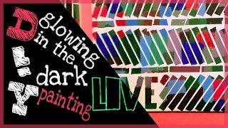 getlinkyoutube.com-DIY -  special glow in the dark painting