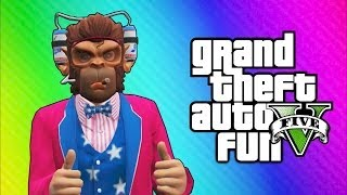 getlinkyoutube.com-GTA 5 Online Funny Moments - Independence Day DLC, Roller Coaster, Fireworks, Liberator Truck!